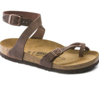 Habana Waxy Leather Birkenstocks | Brown