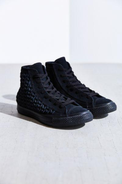 f50ac8a7b2e3 Converse All-Star Woven Suede High-Top from Urban Outfitters