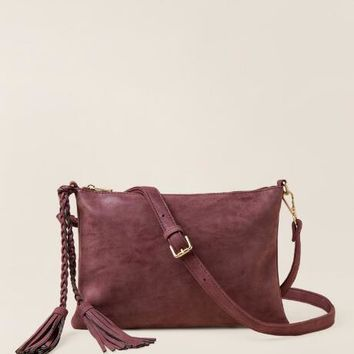 Alexa Tech Charger Distressed Crossbody