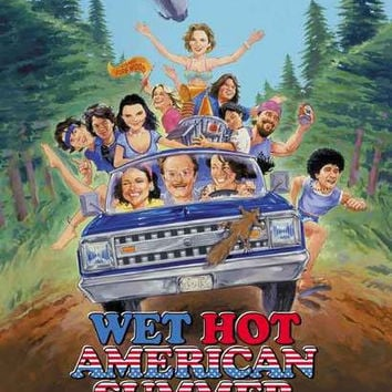 Wet Hot American Summer Movie Poster 11x17