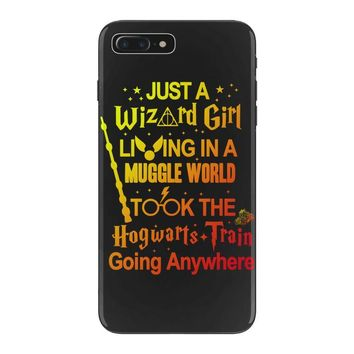 Just A Wizard Girl Living In A Muggle World iPhone 7 Plus Case