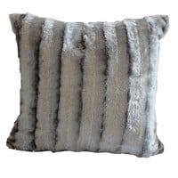 Anna Ricci Stripped 18 inch Throw Pillow | Overstock.com Shopping - The Best Deals on Throw Pillows