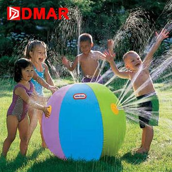 DMAR Inflatable Ball Giant Children Water Toys Pool Toys  Water Jet Pool Float for Air Buoy Swimming Ring Party Beach Toy
