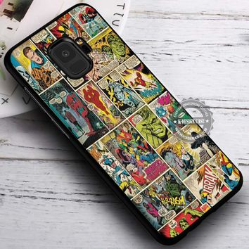 Comic Strip Panels Marvel iPhone X 8 7 Plus 6s Cases Samsung Galaxy S9 S8 Plus S7 edge NOTE 8 Covers #SamsungS9 #iphoneX