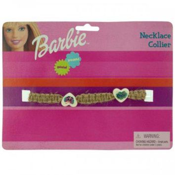 VOND4H Barbie Groovy Woven Beaded Necklace