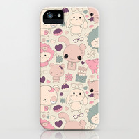 Kawaii pattern iPhone Case by galgalosh | Society6
