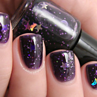 Be-witching Old Broads - Custom Glitter Jelly Hocus Pocus Halloween Nail Polish