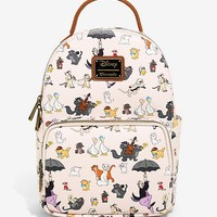 Loungefly Disney Aristocats Allover Print Mini Backpack - BoxLunch Exclusive