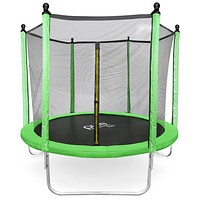 Dura-Bounce Outdoor Trampoline with Enclosure, 8-Foot