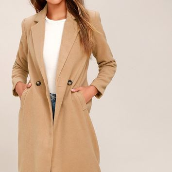 Harriet Tan Coat