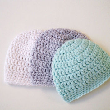 Boy newborn hat Crochet baby hat Hospital baby boy hat Newborn beanie Boy Baby newborn hat Crochet newborn hat Coming home hat Baby beanie