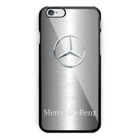 Mercedes Benz Silver Automotive For iPhone 6 6s 7 8 X Plus Har Plastic Case