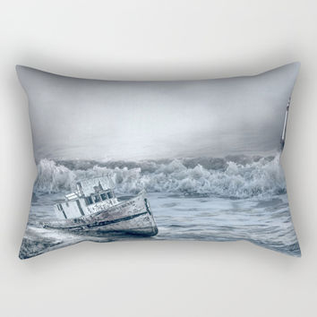 Somewhere Out There Rectangular Pillow by Theresa Campbell D'August Art
