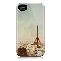 50% OFF - Paris iPhone case for iPhone 4, iphone 4S - Paris Photograph, Eiffel Tower, Travel Photography, Pastel - Paris Je T'Aime