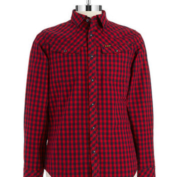 G-Star Raw Checkered Tailor Sport Shirt