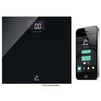 American Weigh Scales - BodigiEssential Wireless Bathroom Scale - Black
