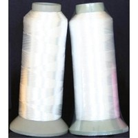 2 Extra Large cones of White Bobbin Thread - 5000 Mts Each $14.95