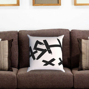 Ashton Irwin Signature 5Sos Pillow Cover , Custom Zippered Pillow Case One Side Two Sides