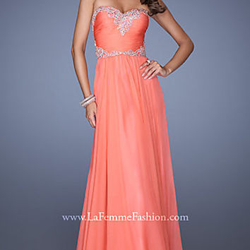 Strapless Formal Gown by La Femme