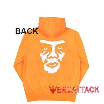 OBEY the Creeper Orange Color Hoodie