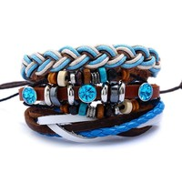 Gift Great Deal New Arrival Awesome Shiny Stylish Hot Sale Accessory Leather Ladies Bracelet [250989576221]