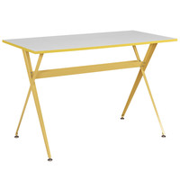 Expound Desk in Yellow