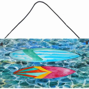 Surf Boards on the Water Wall or Door Hanging Prints BB5366DS812