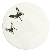 H&M - Cake Stand - White/Butterfly