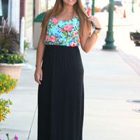 Floral Of The Story Maxi
