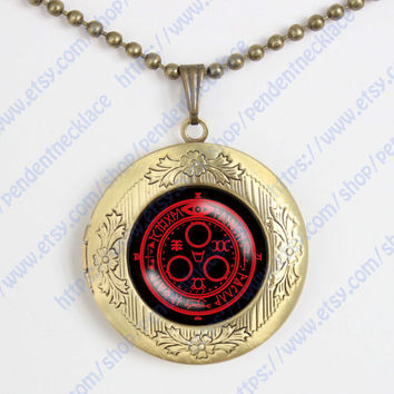 Silent Hill Halo of the Sun vintage pendant locket necklace