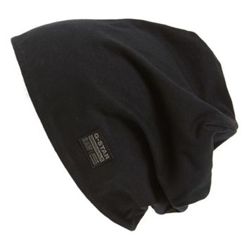 Men's G-Star Raw 'Originals' Reversible Beanie - Black