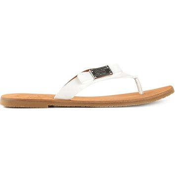 Marc By Marc Jacobs Embellished Flip Flops