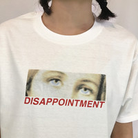 Disappointment Tee by Mogustash