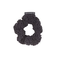 Fleece Scrunchie in Black by Live Oak