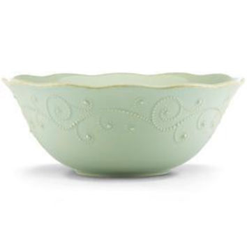French Perle Ice Blue Serving Bowl by Lenox
