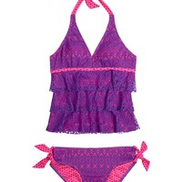 Crochet Tankini Swimsuit | Tankinis | Swimsuits | Shop Justice