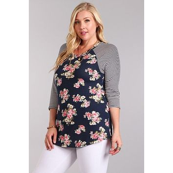 Fearless Floral Top +