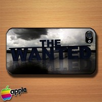 The Wanted Logo Custom iPhone 4 or 4S Case Cover