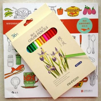 Coloring + The Food Coloring Book