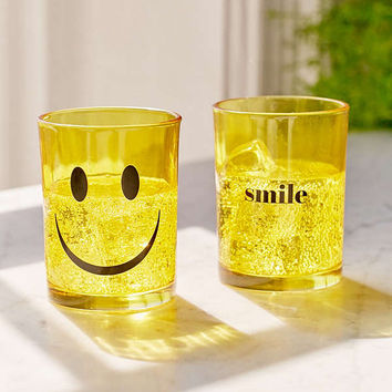 Smile Glass - Set Of 2 | Urban Outfitters