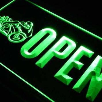 Open Motorcycles Neon Sign (LED)