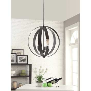 Cassidy 3-light Orb Chandelier | Overstock.com Shopping - The Best Deals on Chandeliers & Pendants