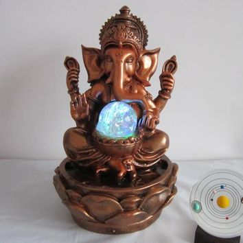 Decorative Indoor Ganesha Water Fountain