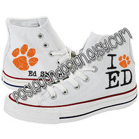Ed Sheeran 'Paw' Custom Converse / Painted Shoes