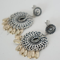 Boho Dangle Plugs Gauges Available in 8g, 6g, 4g, 2g 4mm 6mm 8mm