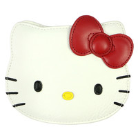 HELLO KITTY FACE COIN PURSE