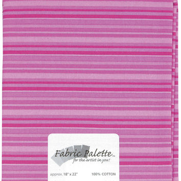 fat quarter print & novelty fabric pink