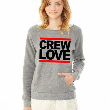 Crew Love ladies sweatshirt