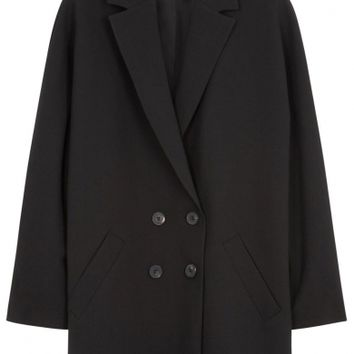 McQ Alexander McQueen Black double-breasted coat