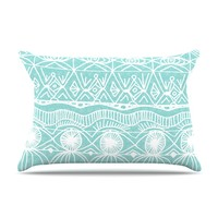 "Catherine Holcombe ""Beach Blanket Bingo"" Pillow Case"